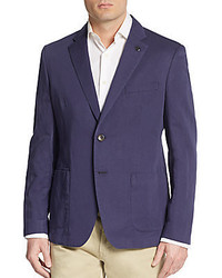 Michael Kors Regular Fit Cotton Linen Sportcoat