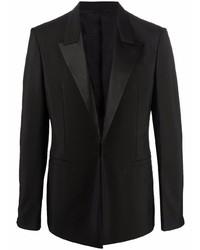 Givenchy Satin Lapel Blazer