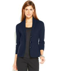 Alfani Shawl Collar Button Front Jacket