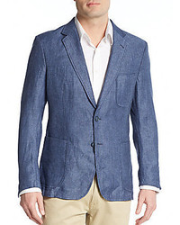 Saks Fifth Avenue Slim Fit Linen Sportcoat