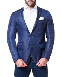Maceoo Socrate Snake Jacquard Sport Coat