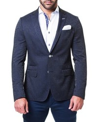 Maceoo Socrate Window Jacquard Blazer
