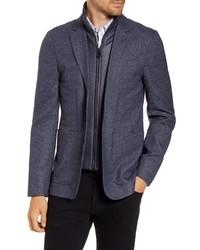 Ted Baker London Sport Coat With Removable Bib