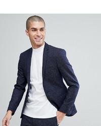 Noak Super Skinny Suit Jacket In Fleck