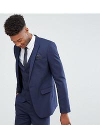 ASOS DESIGN Tall Skinny Suit Jacket In Navy
