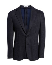 Luciano Barbera Trim Fit Cotton Blend Blazer