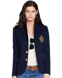 Polo Ralph Lauren Two Button Emblem Blazer