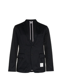 Thom Browne Unconstructed Single Breasted Blazer