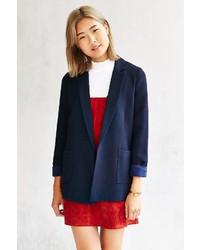 Urban Outfitters Love Sadie Textured Blazer