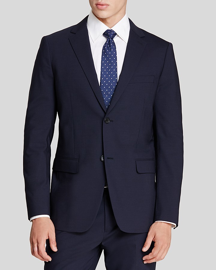 Theory Wellar Slim Fit Suit Separate Sport Coat