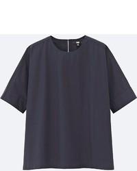 Uniqlo Extra Fine Cotton Short Sleeve T Blouse