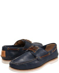 Navy boat shoes original 520506