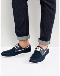 Lambretta Boat Shoes Navy
