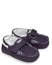 Ralph Lauren Infants Grip Tape Strap Boat Shoes