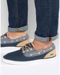 Lacoste Jouer Deck Boat Shoes