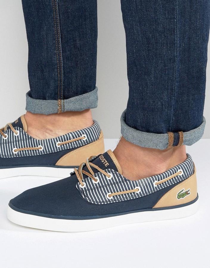 Lacoste Jouer Deck Boat Shoes, $103