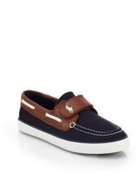 Ralph Lauren Kids Sander Grip Tape Boat Shoes