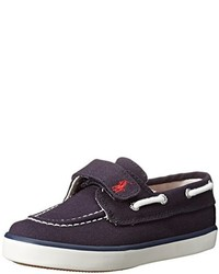 Polo Ralph Lauren Kids Sander Ez Canvas Fashion Boat Shoe