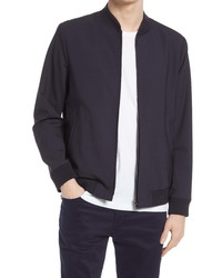 Theory Aiden Stretch Wool Bomber Jacket