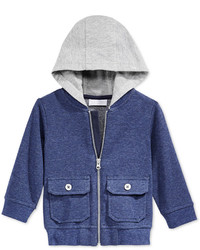 First Impressions Baby Boys Hooded Bomber Jacket Only At Macys