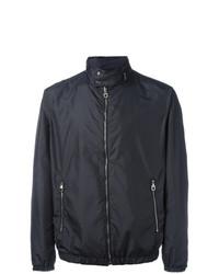 Salvatore Ferragamo Band Collar Double Sided Jacket