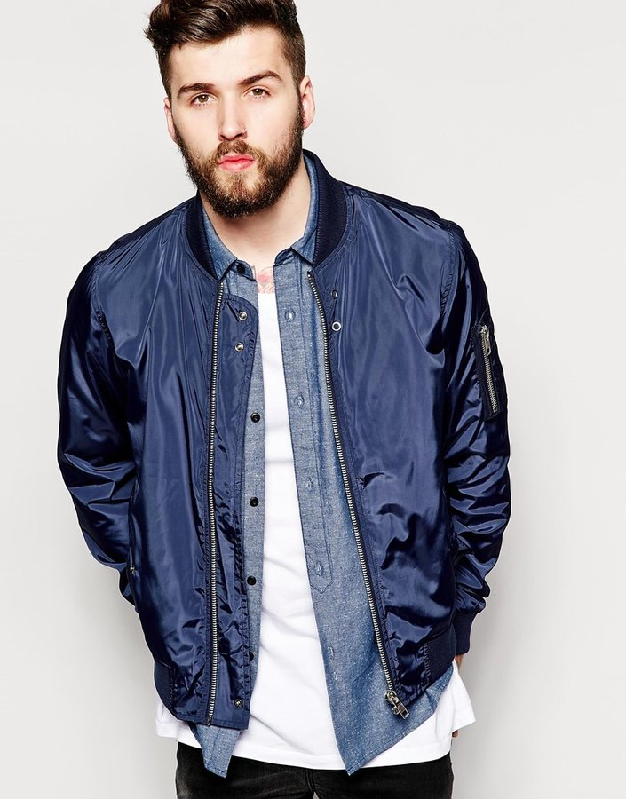 Bellfield Nylon Bomber | Where to buy & how to wear