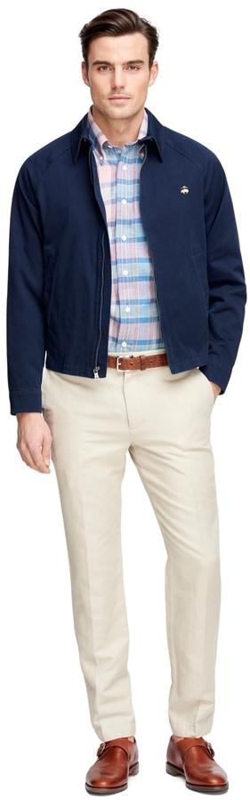 176164c1f $198, Brooks Brothers Clifton Bomber Jacket