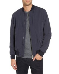 Eleventy Cotton Blend Bomber Jacket