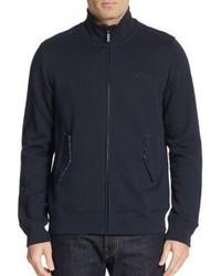 Ben Sherman Cotton Jersey Bomber Jacket