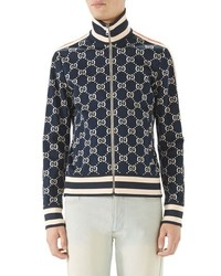 Men s Navy Jackets by Gucci  37e696f98f77