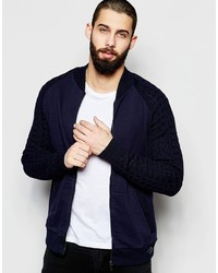 ONLY & SONS Knitted Bomber Jacket