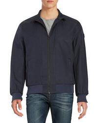 Michael Kors Michl Kors Front Zip Bomber Jacket