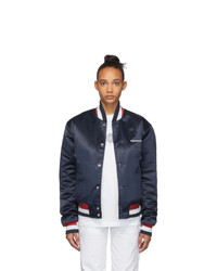 Noon Goons Navy Dugout Bomber Jacket