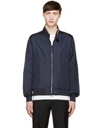 Navy nylon bomber jacket medium 658796