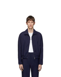 Random Identities Navy Zip Up Jacket