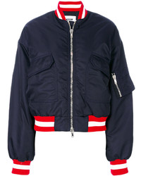 MSGM Patch Pocket Bomber Jacket
