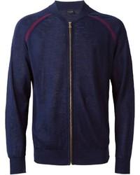 Paul Smith Ps Knit Bomber Jacket