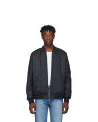 Levis Reversible Black Sherpa Bomber Jacket