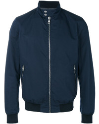 Salvatore Ferragamo Reversible Bomber Jacket