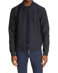 Emporio Armani Rice Stitch Bomber Jacket