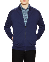 Robert Graham Castle Knit Cotton Bomber Jacket