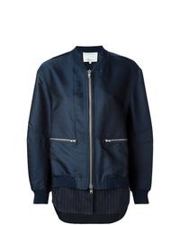 3.1 Phillip Lim Shirt Tail Bomber Jacket