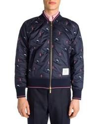 Thom Browne Slim Fit Bomber Jacket