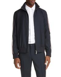 Valentino Stripe Track Jacket