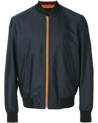 Paul Smith Stripy Detail Bomber Jacket