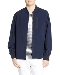 WAX LONDON Twombly Water Resistant Bomber Jacket