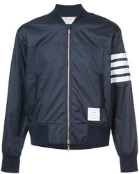 Thom Browne Zipped Bomber Jacket