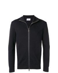 Salvatore Ferragamo Zipped Knitted Jacket