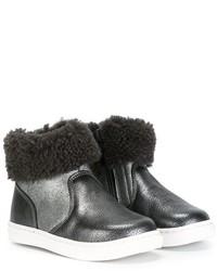 Pépé Pp Panelled Shearling Boots