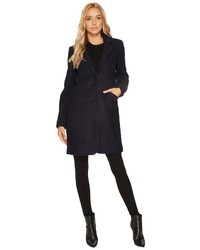 Andrew Marc Marc New York By Paige 35 Pressed Boucle Notch Collar Coat Coat